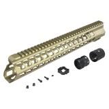 ICS MA-380 YAK Keymod Handguard 15'' TAN