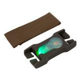 LITEBUCK LBSB-OD-02-AA Split-Bar Module (Olive Drab/Green)