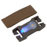 LITEBUCK LBSB-OD-04-AA Split-Bar Module (Olive Drab/Blue)