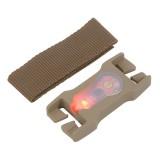 LITEBUCK LBSB-SAND-01-AA Split-Bar Module (Sand/Red)