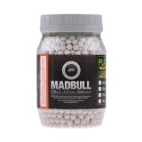 MADBULL 0.36g Heavy BBs for Snipers - Bottle 2000 rds - White