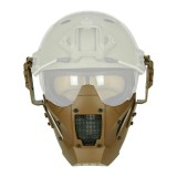 MiC DESIGN FAST Helmet Mask Tan