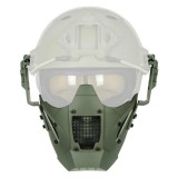 MiC DESIGN FAST Helmet Mask Wolf Grey