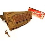 MODIFY Rifle Stock Ammo Pouch with Cheek Leather Pad - OD