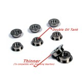 MODIFY Stainless Bushing for Jing Gong w/ Double Oil Tank 6mm (6 pcs)