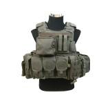 PANTAC VT-C270-RG-L RAV Armor With Pouches, L, Ranger Green