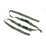 PANTAC SL-N063-RG-A One Point Sling For Ciras, II, Ranger Green