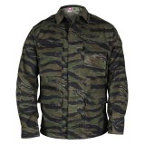 PROPPER F5454 BDU 60C/40P Twill Coat Tiger Stripe L Regular