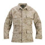 GENUINE GEAR F5450 BDU 60C/40P Ripstop Coat Digital Desert L L
