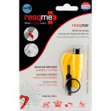 RESQME 2 in 1 Keychain Rescue Tool Yellow Retail