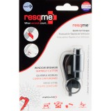 RESQME 2 in 1 Keychain Rescue Tool Black Retail