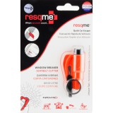 RESQME 2 in 1 Keychain Rescue Tool Orange Retail