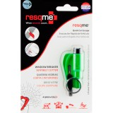 RESQME 2 in 1 Keychain Rescue Tool Green Retail