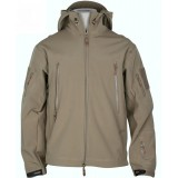 Cortaviento Softshell shark skin Tan